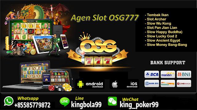Daftar Game Judi Slot OSG777 Online
