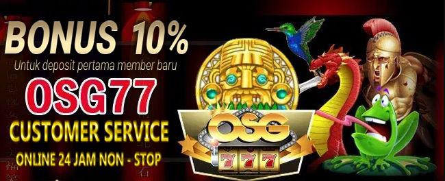 Situs Judi Game Slot OSG777 Deposit Pulsa
